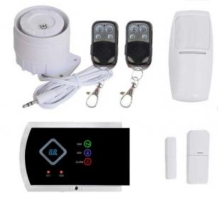 Комплект сигнализации GSM G10A (Pro)