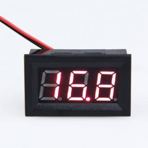 LED цифровой вольтметр постоянного тока