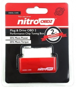 Чип тюнинг Nitroobd2 Chip tuning box для ДИЗЕЛЬНОГО двигателя