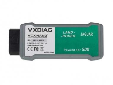 VXDIAG VCX NANO для Land Rover и Jaguar