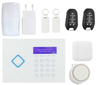 Охранная сигнализация GSM 66A (Pro)