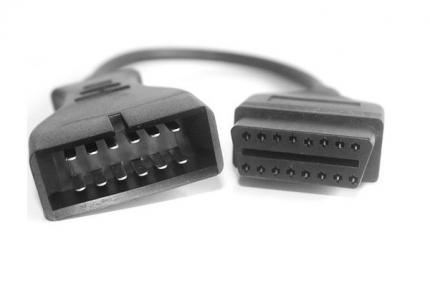 Переходник OBD-II 16pin на GM12 DAEWOO 12-pin