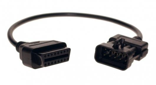 Переходник OBD-II 16-пин на 10-pin (старый OPEL)