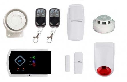 Комплект сигнализации GSM G10A (Elite)