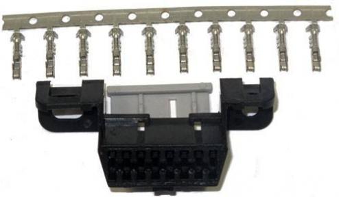OBD2 разъем-розетка 16pin